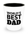 Fathers Day Gift- Unique Gifts For Dad - Best Dad Gifts - Gift Ideas For Dad -World's Best Dad Shot Glass - Shot Glass - YesECart