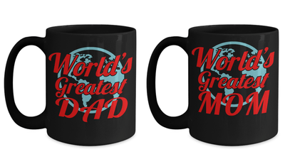 American Dad Coffee Mug - Worlds Best Dad Mug - 15 Oz World's Best Dad Mug Coffee Gifts For Dad - Call Mom Mug Good Mom Mug - Coffee Mug - YesECart