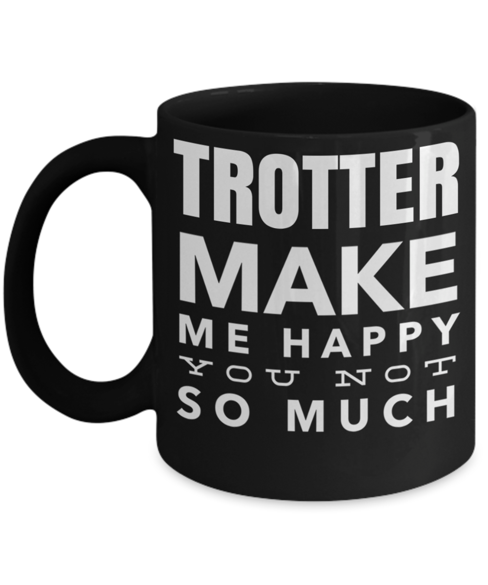 Best Horse Coffee Mugs - Christmas Gifts For Mom & Dad - 11 Oz Black C