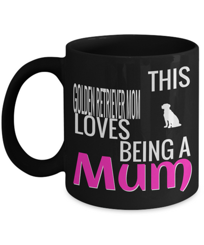 Golden Retriever Gifts-Golden Retriever Mug-Golden Retriever Mom - Coffee Mug - YesECart