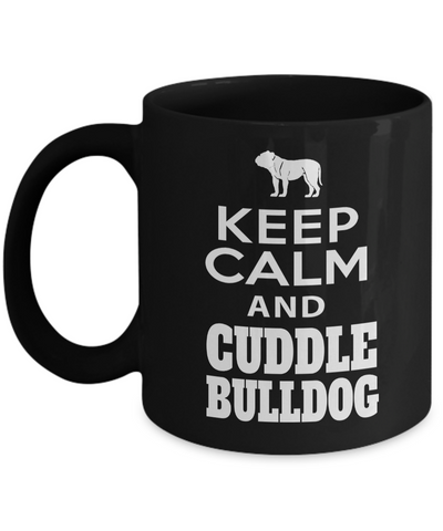 Bulldog Coffee Mug-English Bulldog Gifts-American Bulldog Gifts-Bulldog Dad - Coffee Mug - YesECart