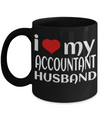 Funny Accountant Mug - Funny Accountant Gifts for Women or Men - Retired Tax Accountant Gifts Idea - I Love My Accountant Husband - Coffee Mug - YesECart