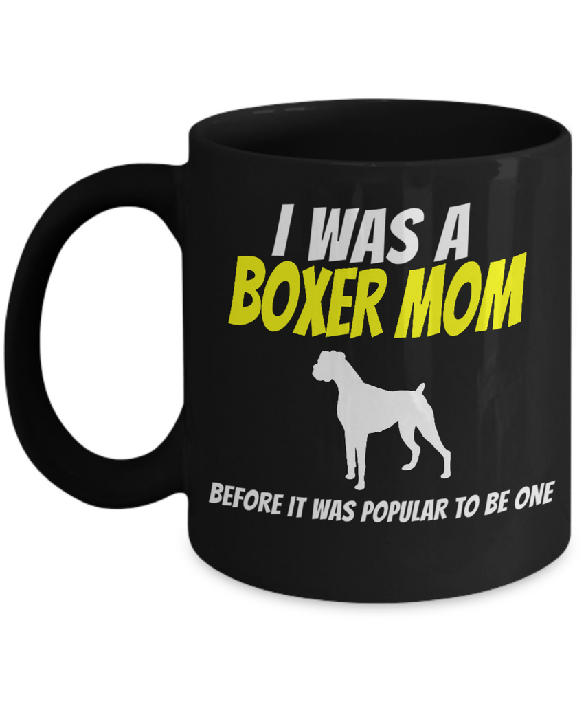 Boxer Dog Gifts For Owners-Boxer Mug-Boxer Dog Mom
