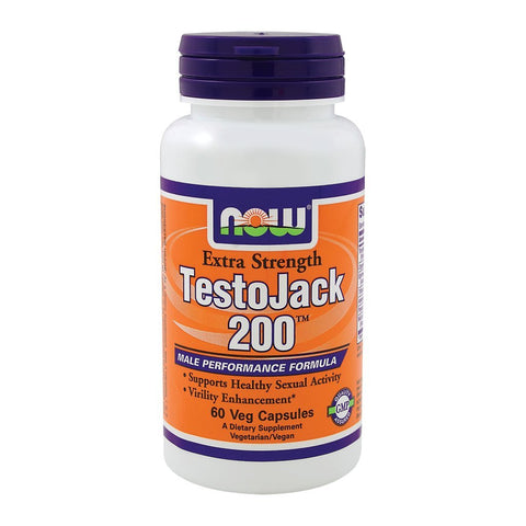Testojack 200 Male Virility 60 caps Now Foods
