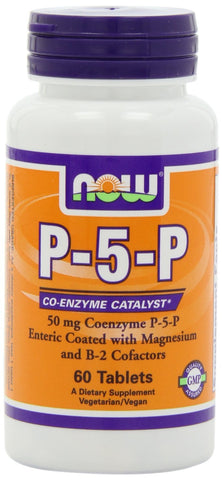 P-5-P 50mg Complex 60 Tabs Now Foods Vitamin B6
