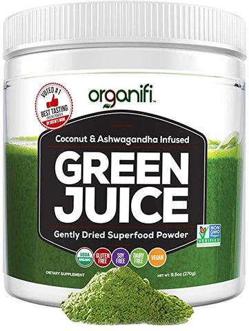 Green Juice from Organify - Organic Superfood Supplement Powder