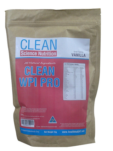 Clean WPI Pro - All Natural Protein from Clean Science Nutrition
