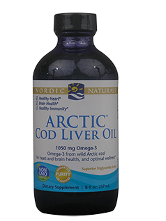 Arctic Cod Liver Oil Liquid Plain 237ml-Nordic Naturals