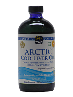 Arctic Cod Liver Oil Liquid Orange 473ml-Nordic Naturals