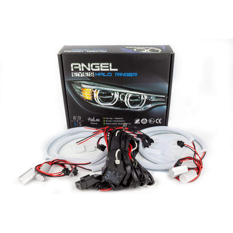 9rds.no LED SMD Soft light Angel eyes ettermonteringssett E36 / E46 (med projektor) (Sett) - Lyshelten.no