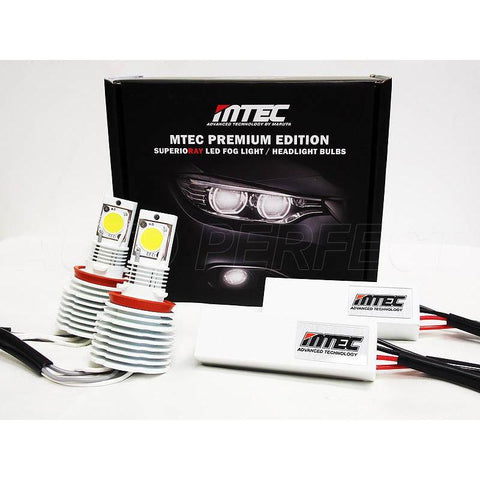 MTEC MARUTA TECHNOLOGY Premium Edition 5500K H8 / H11 LED CANBUS - 9rds.no