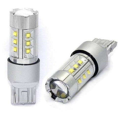 Kraftigeste LED Ryggelys Med CREE CHIP + EPISTAR 100w for 7440/7443 W21W - 9rds.no