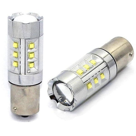Kraftigeste LED Ryggelys Med CREE CHIP + EPISTAR 100w for BA15S,1156 og P21W - 9rds.no