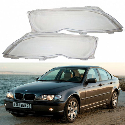 BMW E46 facelift frontlykt - glass sedan/touring (Sett) - Lyshelten.no