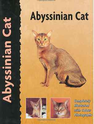 Abyssinian Cat :  Virginia Tidwell :  NEW Hardcover