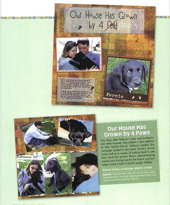 Pet Pages Unleashed : Animal-Inspired Scrapbook Pages - New Softcover  @