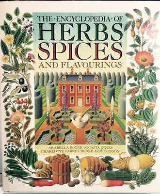 The Encyclopedia of Herbs and Spices : VG 1984 1st Edition Hardcover   *ZB