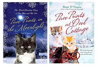 Paw Prints in the Moonlight & Paw Prints at Owl Cottage : Set of 2 Volumes  New@