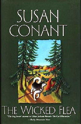 The Wicked Flea: Dog Mystery -   Susan Conant -  New Hardcover