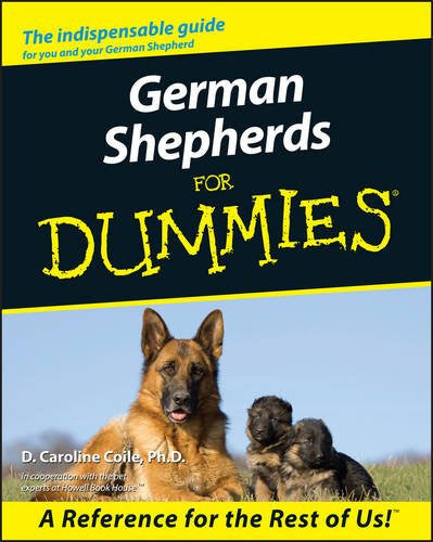 German Shepherds For Dummies : D. Caroline Coile : New Softcover