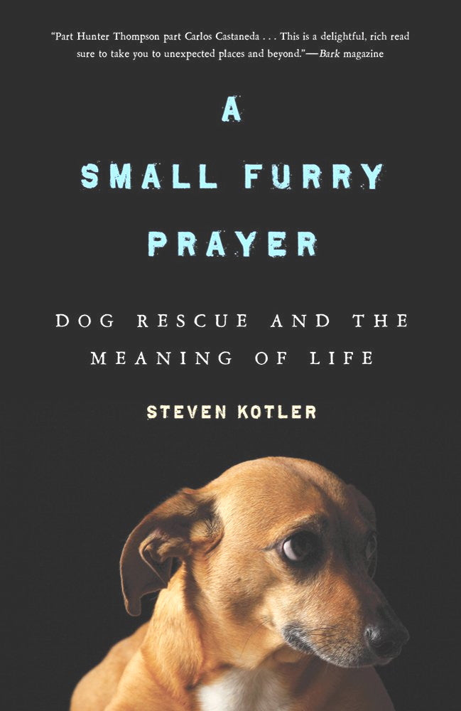 A Small Furry Prayer: Dog Rescue and the Meaning of Life - Kotler : New Softcover