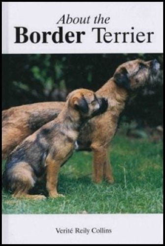About the Border Terrier: Verite Collins - Hardcover 1997 1st Edition