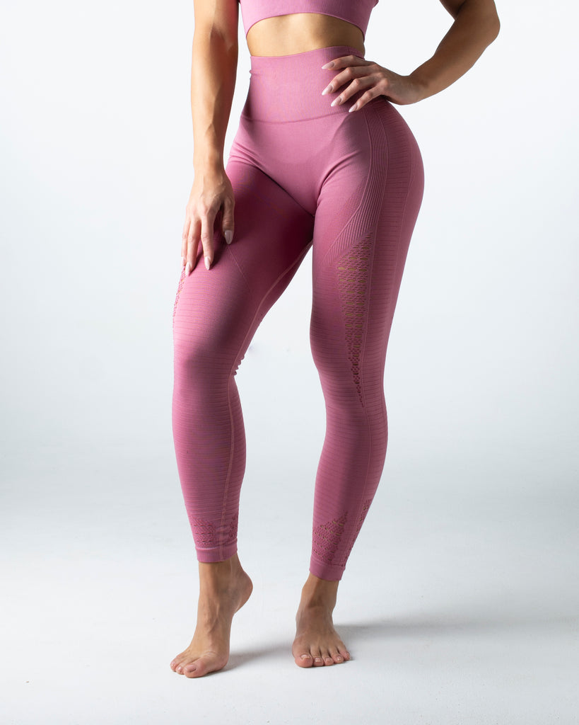 Seamless Pink Leggings - MC Activewear and Waist Training