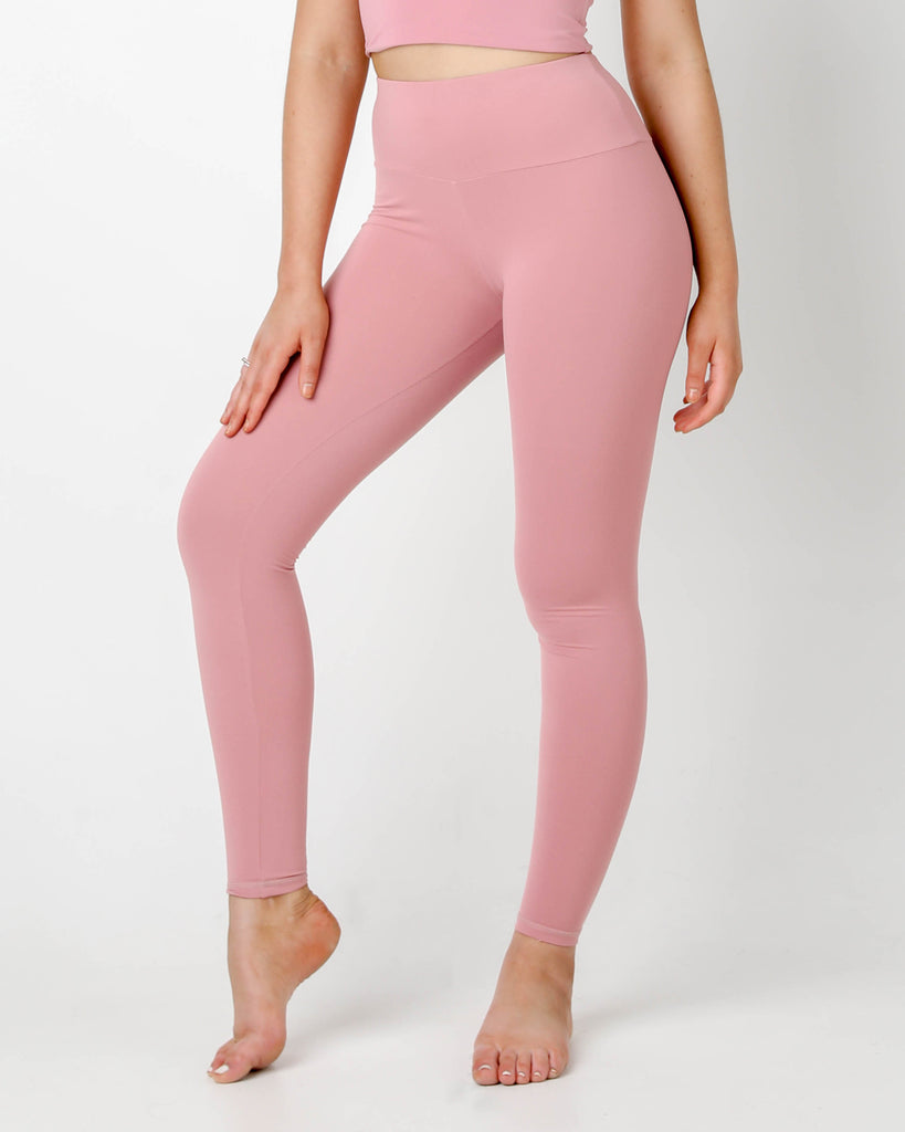Rouge Plush highwaisted Leggings - MC Activewear and Waist Training