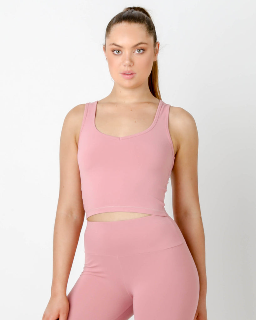 Rouge Gia V Short Tank - MC Activewear and Waist Training