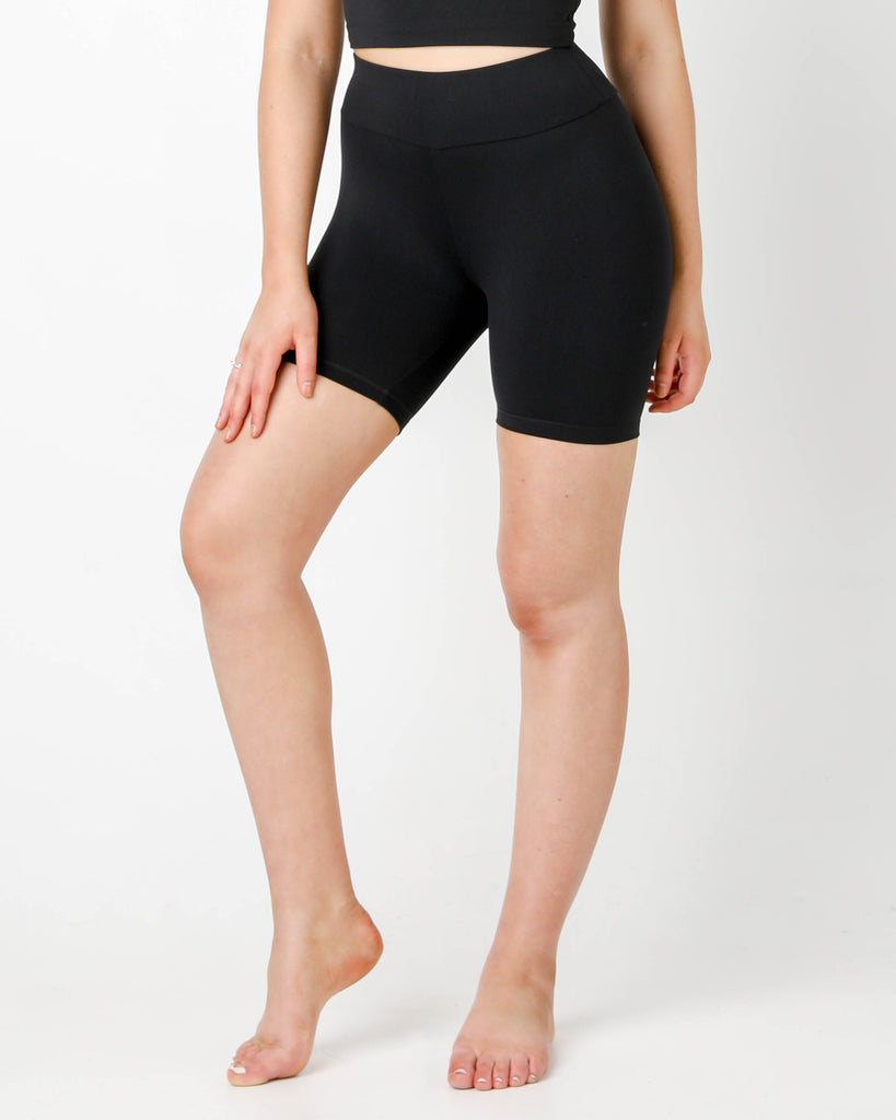 Black Bike Shorts - MC Activewear and Waist Training