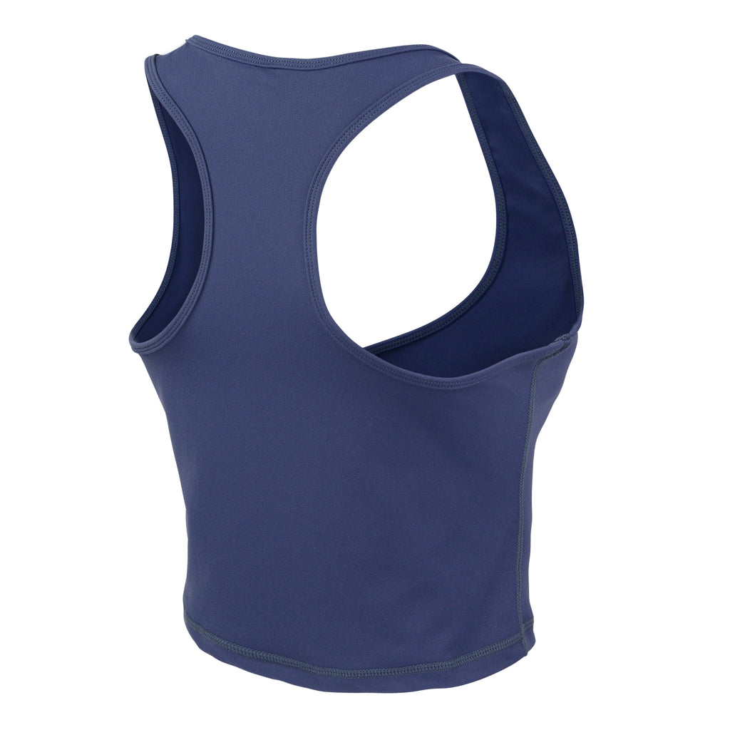 Royal Blue Gia V Short Tank - MC Activewear and Waist Training