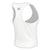 WHITE MID RACER TANK - MC Activewear and Waist Training