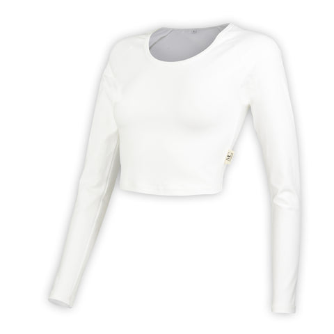 GT White Long Sleeve Top