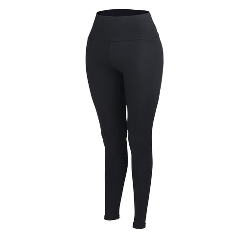 Black Plush Highwaisted Leggings