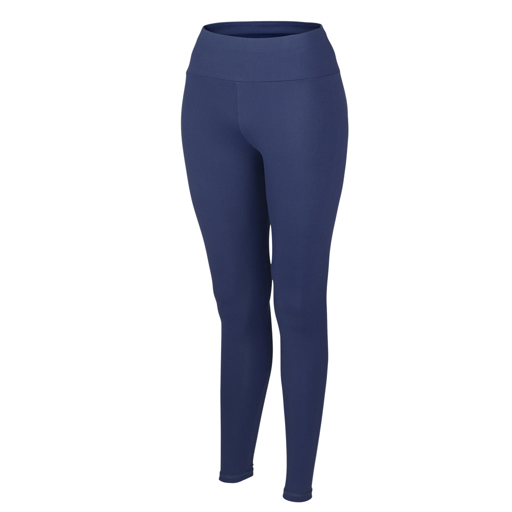 Royal Blue Plush High Waisted Leggings - MC Activewear and Waist Training