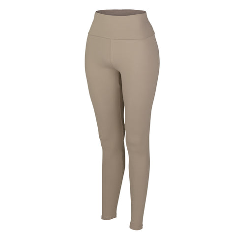 Latte Plush Highwaisted Leggings