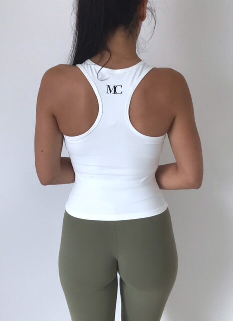 Gia Mid V Tank Top - MC Activewear and Waist Training