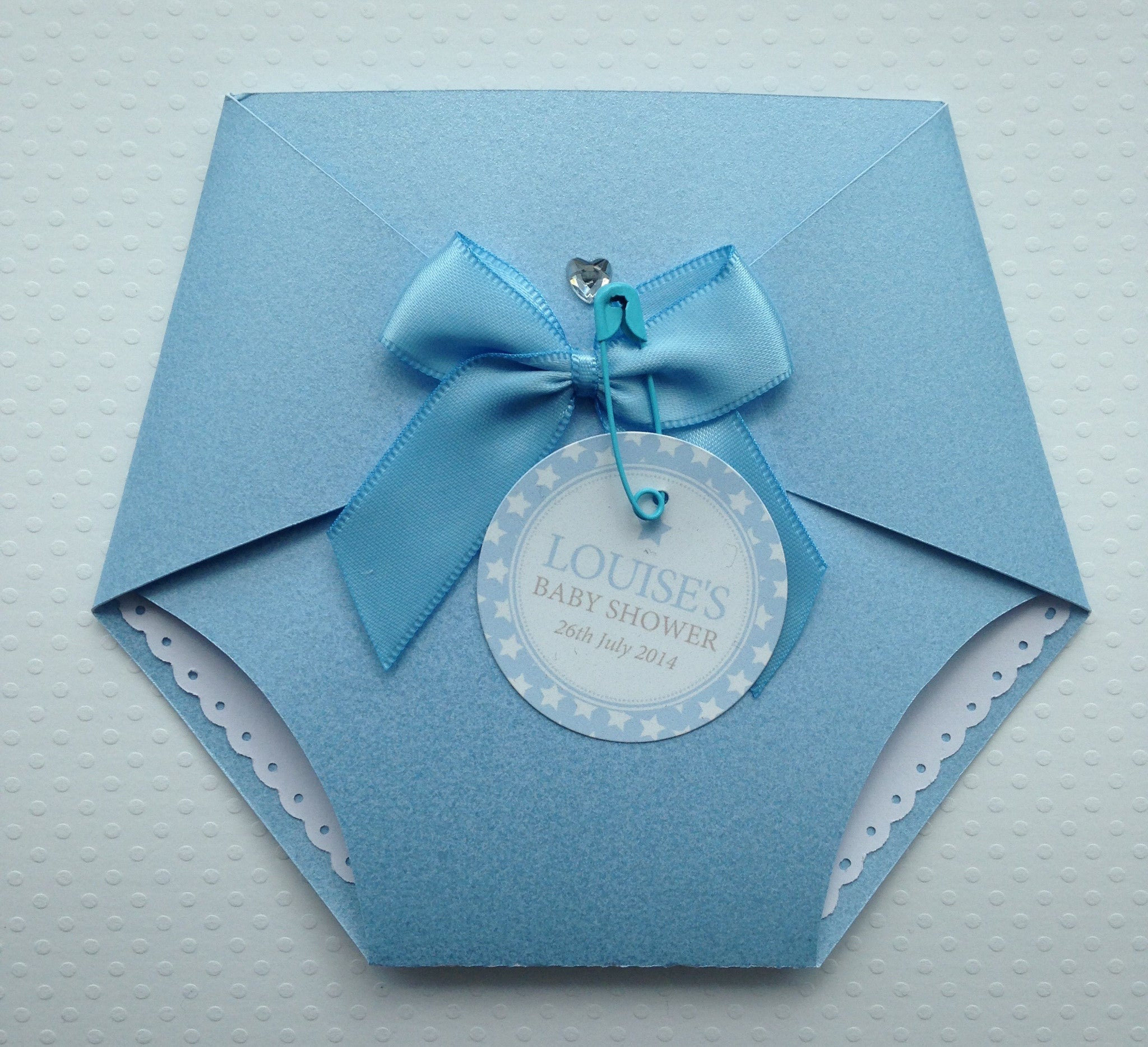 Diaper Nappy Style Invitations Pretty Things By Dee