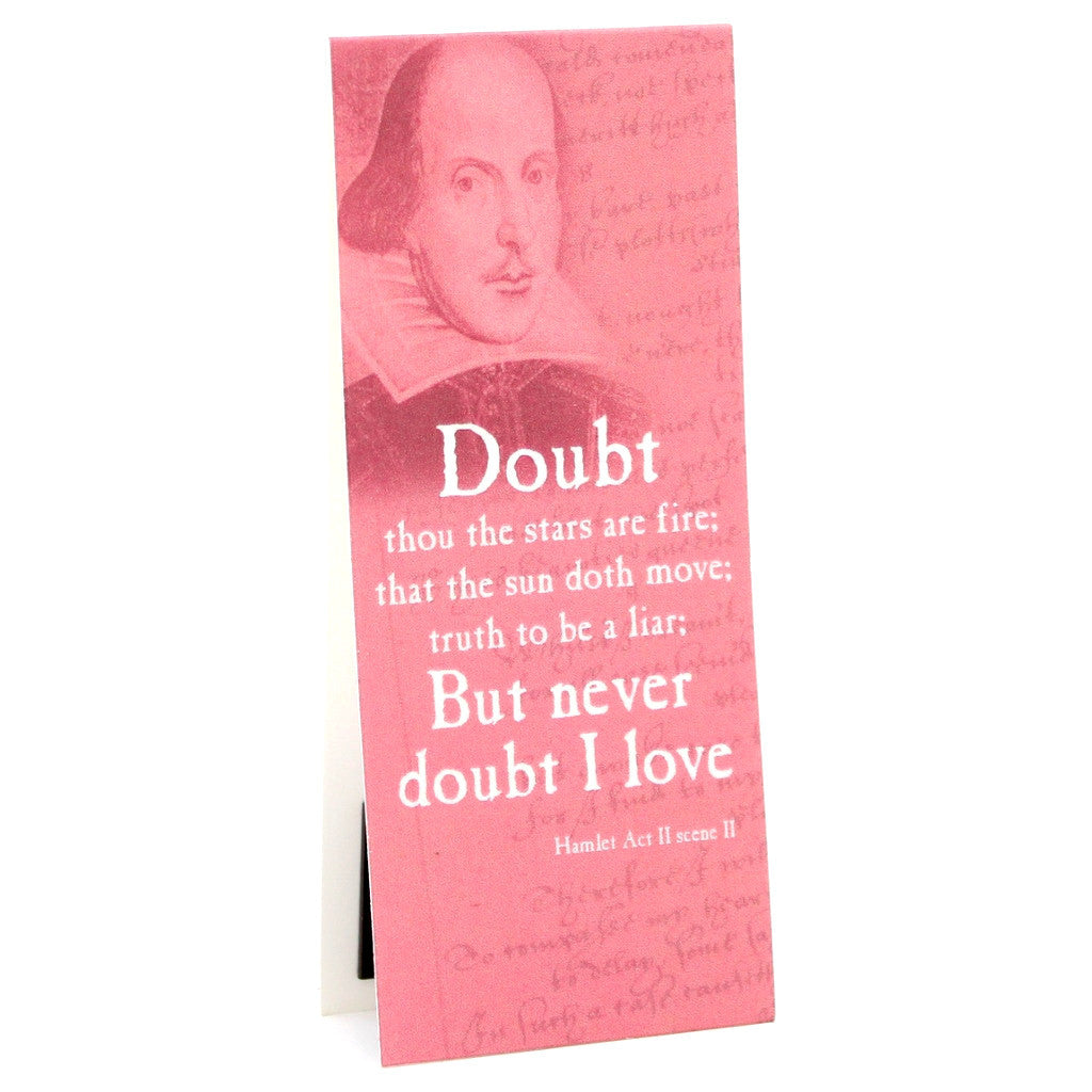 'Doubt Thou The Stars...' Shakespeare Quote Bookmark - The Little Bookish Gift Co - 1