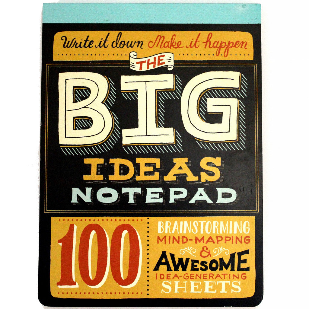 Big Ideas Notepad by Mary Kate McDevitt - The Little Bookish Gift Co - 1