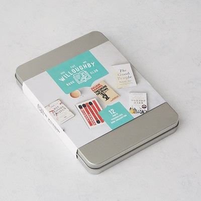 the willoughby book club 6 month subscription gift box - little bookish gifts