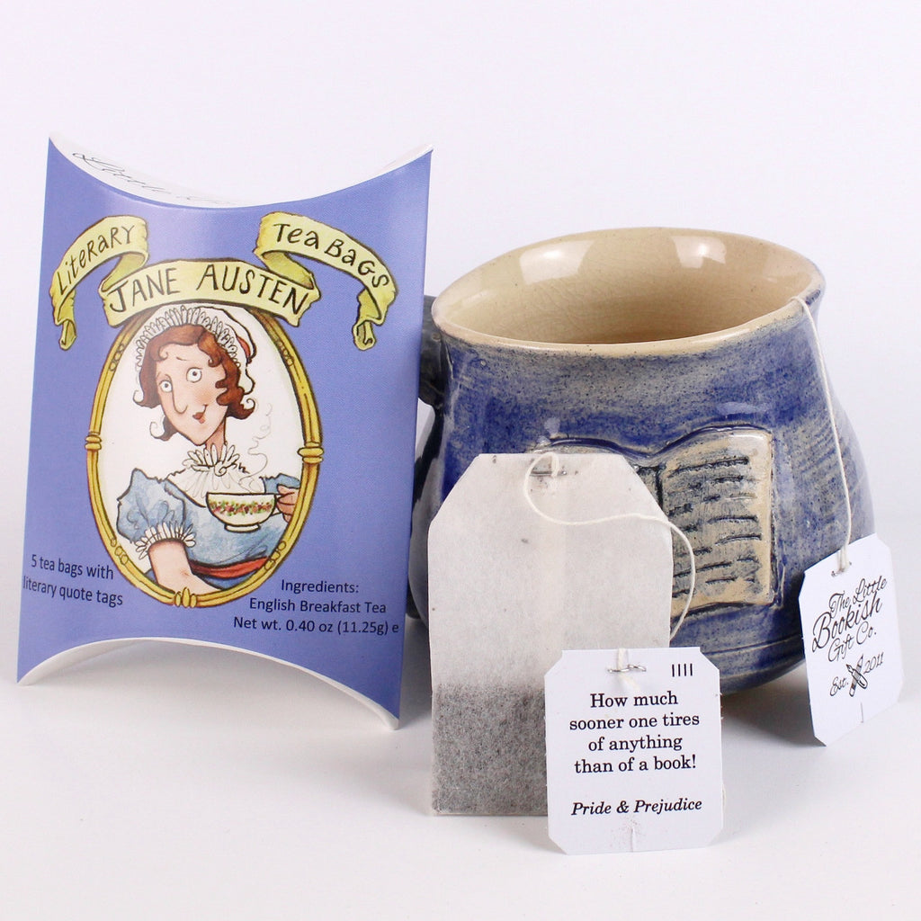 Jane Austen Literary Teabags - Pouch of 5