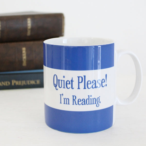 'Reader' Mug ~ Blue - The Little Bookish Gift Co - 2
