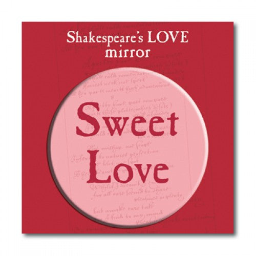 Sweet Love Pocket Mirror - Shakespeare's Love - The Little Bookish Gift Co - 2