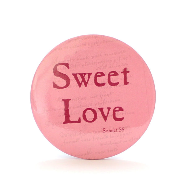 Sweet Love Pocket Mirror - Shakespeare's Love - The Little Bookish Gift Co - 1
