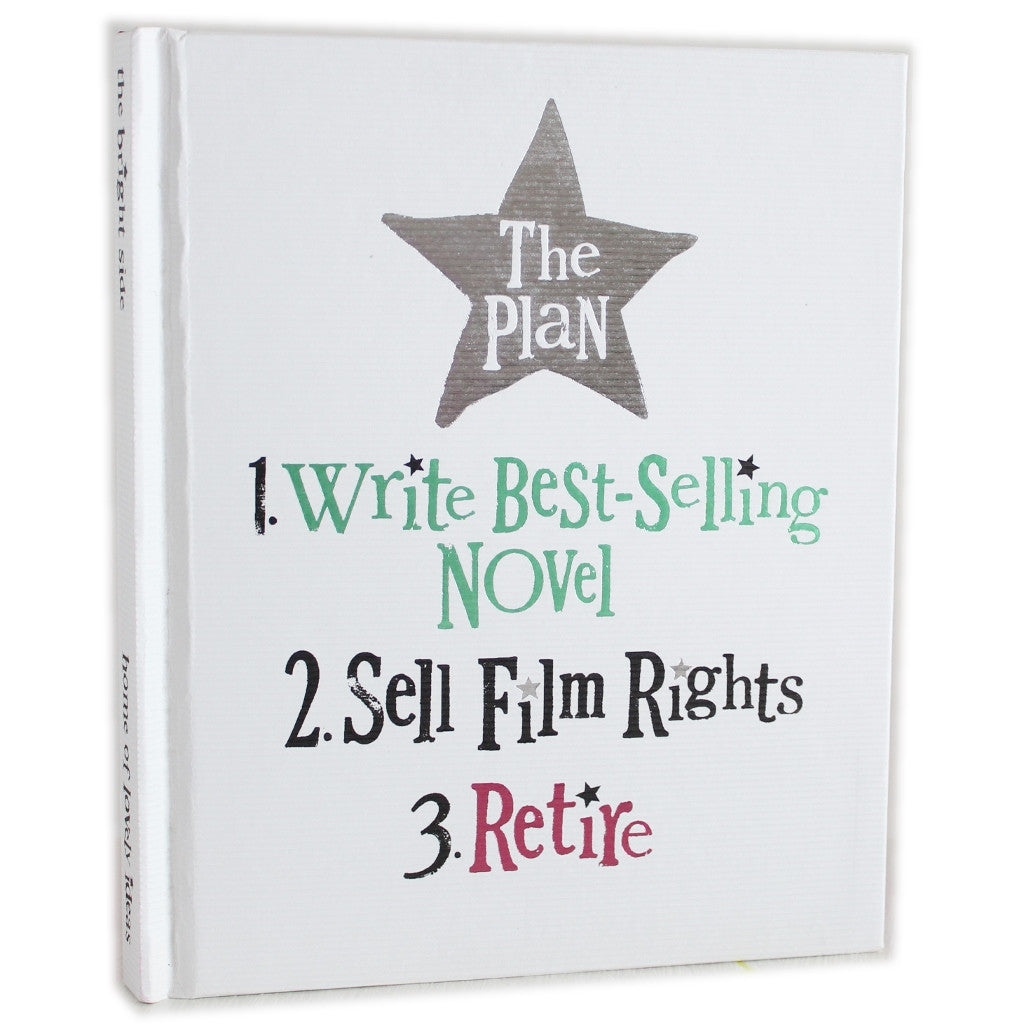 Write Bestselling Novel - Hardback Notebook - The Little Bookish Gift Co
