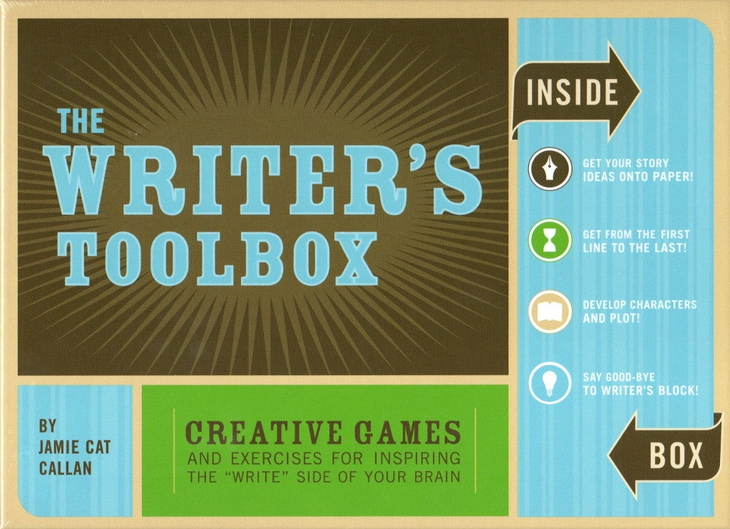 The Writer's Toolbox - The Little Bookish Gift Co - 1