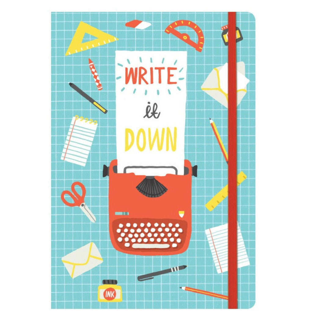 Write It Down Journal - The Little Bookish Gift Co