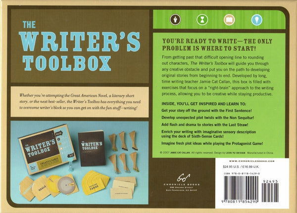 The Writer's Toolbox - The Little Bookish Gift Co - 2