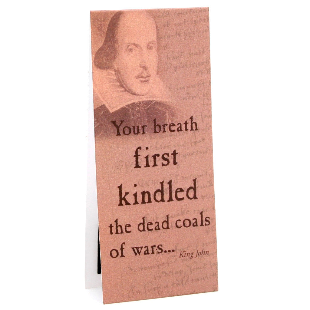 'Your Breath...' Shakespeare Quote Bookmark - The Little Bookish Gift Co - 1